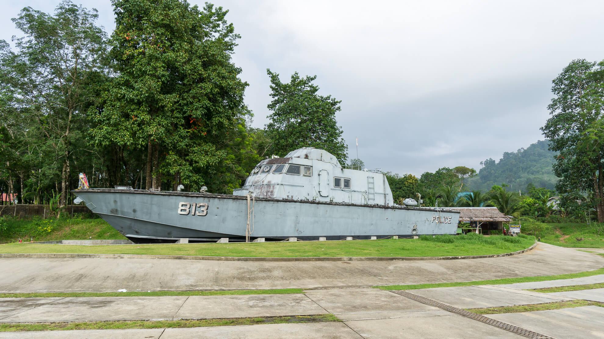 Khao Lak-polizeiboot