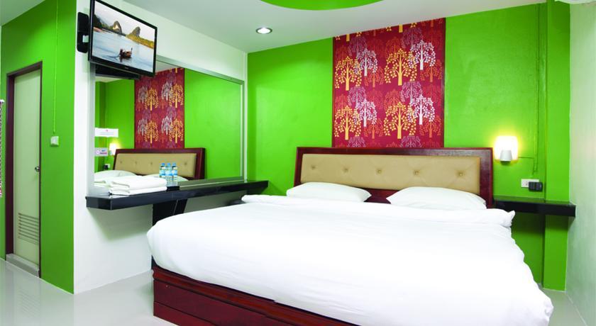 Krabi Orchid Hometel Zimmer
