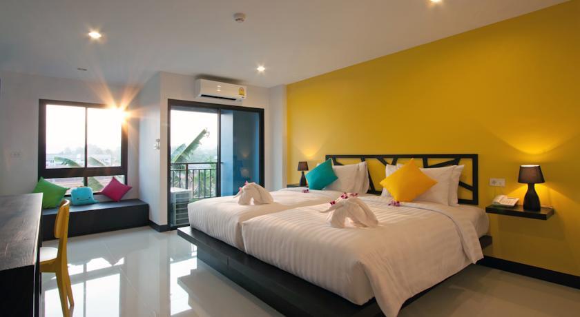 Sleep Whale Hotel Zimmer