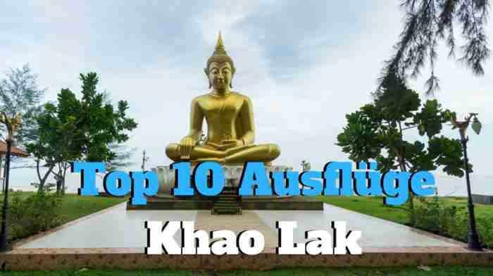 Khao Lak Top 10 Ausflüge