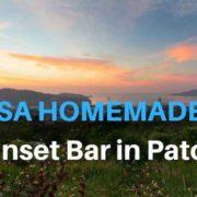 Die Wassa Homemade Bar - Super Sunset Bar in Patong