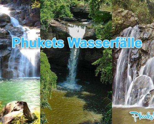 Phukets Wasserfälle