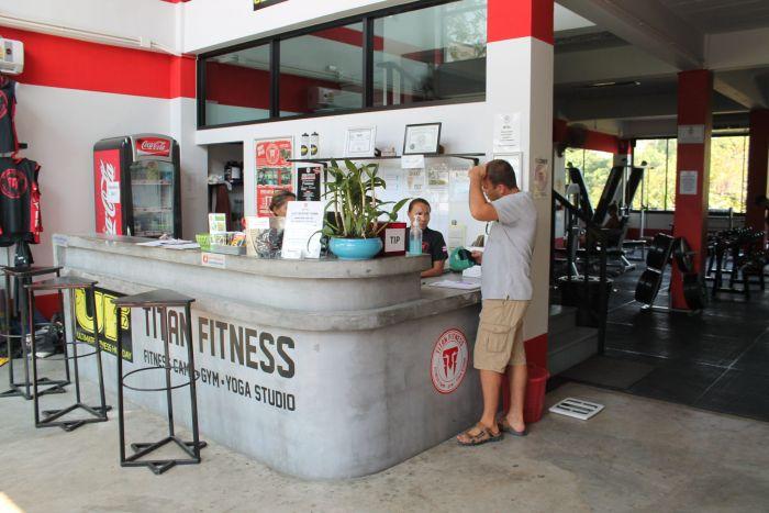 titan fitness phuket chalong