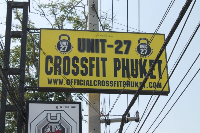unit 27 crossfit gym phuket