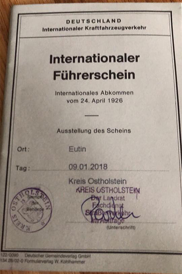 Internationaler FГјhrerschein Duisburg